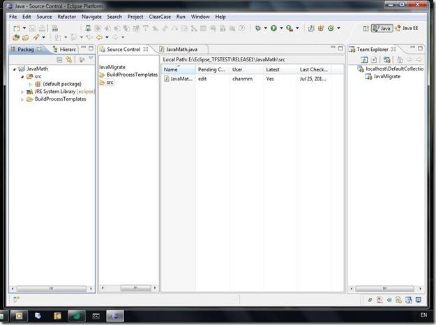 Microsoft Visual Studio Team Explorer Everywhere 2010
