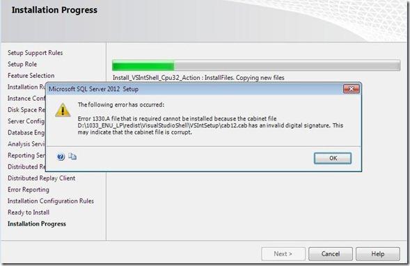 SQL2012Installation