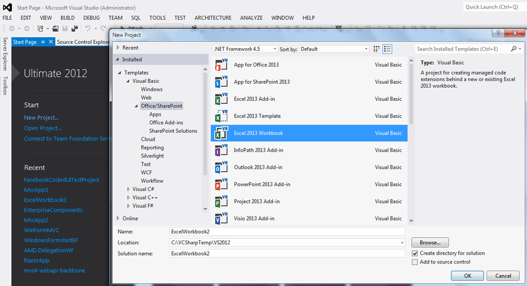 Visual studio 2013 tools for office download for visual studio 2012 chanmingman 39 s blog - Visual studio tools for office ...