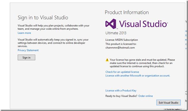 visual studio product key 2015