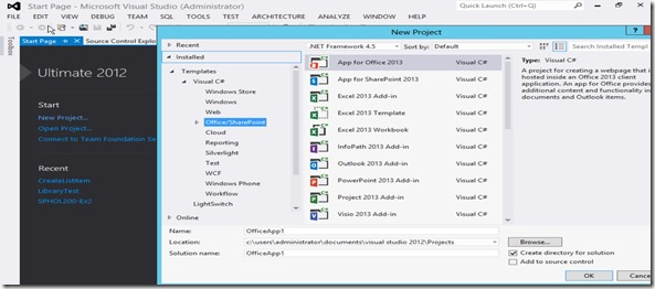 Sharepoint 2013 templates for visual studio 2012 for Sharepoint 2013 blog template