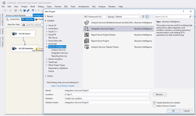 SQL Server Data Tools for Visual Studio 2017 | Chanmingman's