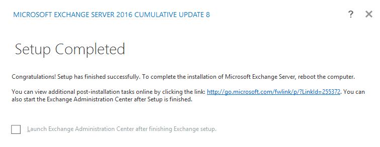 Install Exchange 2016 in Windows Server 2016 | Chanmingman's